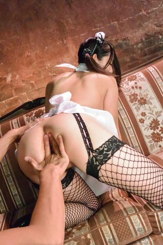 Anna Mihashi - Anna Mihashi gives Asian blowjob on a big dick - Picture 10