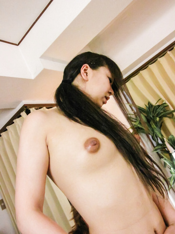 Morita Kurumi - Morita Kurumi gives an asian blowjob and creampied - Picture 1