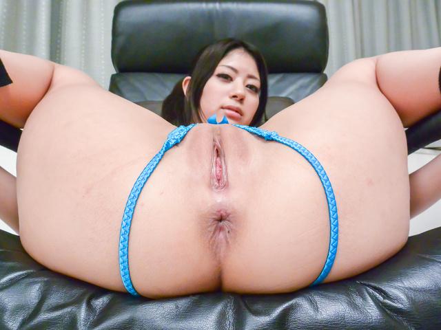 Konatsu Hinata - 亚洲的束缚,为了取悦热气腾腾 Konatsu 阳平的粗糙 - 图片 3