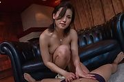 Maria Ozawa - Curvy ass Japanese takes good care of two cocks  - Picture 1