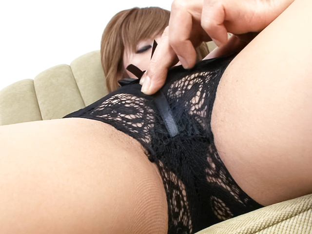 Hazuki Rui - Sexy Hazuki Rui has clit and cunt aroused - Picture 9
