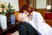 Erika Nishino - Amateur Asian blowjob by sleazy Erika Nishino - Picture 2