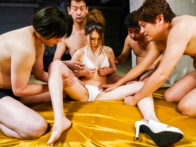 水沢あいり - お仕置きぶっかけ&膣内発射~水沢あいり - Picture 4