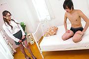 Reon Otowa - xxx Japanese hardcore along sexy Reon Otowa - Picture 1