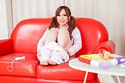 Rino Sakuragi - Rino Sakuragi tries Asian dildos down her pussy - Picture 5