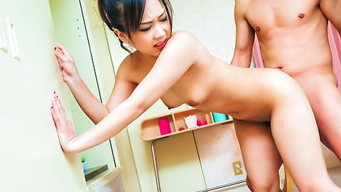 Saki Fujii needs cock in her pink Asian pussy