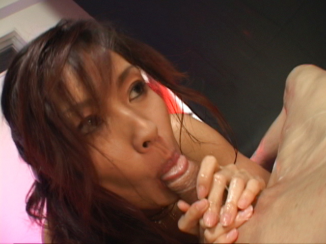 Mecumi - Oil covered Mecumi is rear fucked and left with a creampie - Picture 9