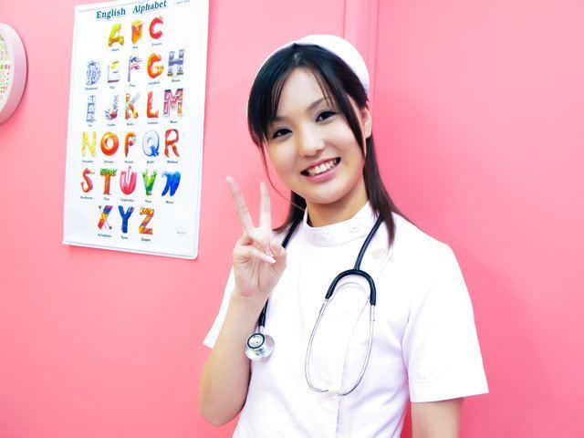 Rio Nakamura - Lovely nurse Rio Nakumara makes it all better for horny cock - Picture 6