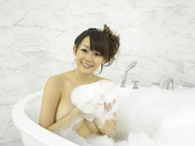 Rina Wakamiya - Rina Wakamiya with hot ass and huge tits gets fucked - Picture 1
