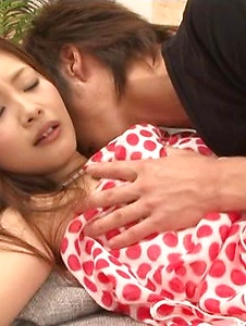 Suzuka Ishikawa - Suzuka Ishikawa blowing and riding a dick with squirting - Screenshot 12