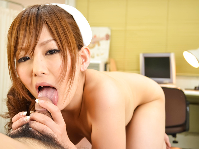 Miku Airi − Nurse Miku Airi Creampied In A POV Video − Picture 12