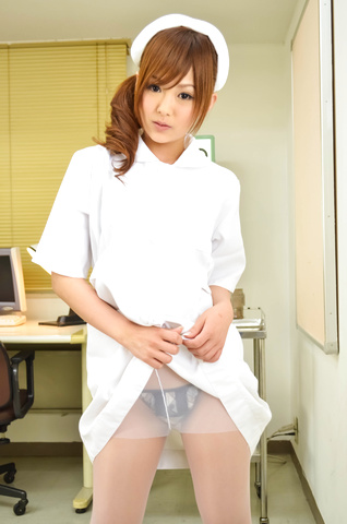 Miku Airi − Nurse Miku Airi Creampied In A POV Video − Picture 2