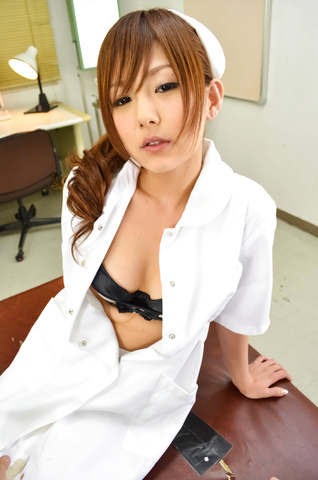 Miku Airi − Nurse Miku Airi Creampied In A POV Video − Picture 4