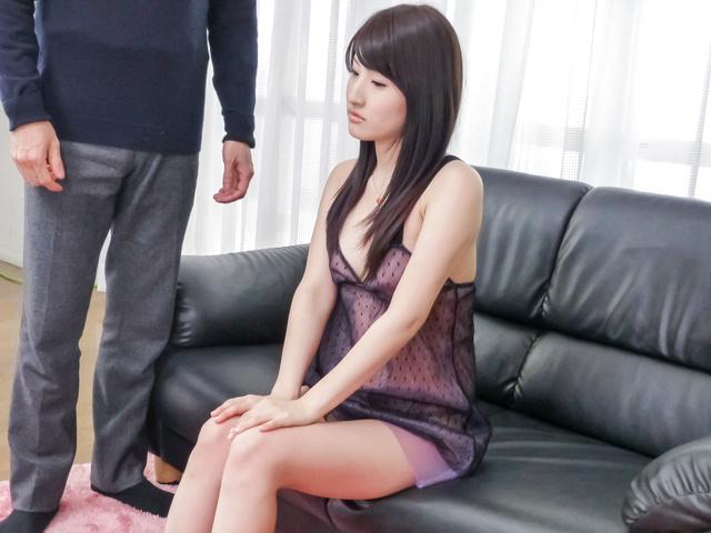 Saki Kobashi - JAV Superstar Saki Kobashi Feels her Pussy and Tastes Jizz - Picture 4