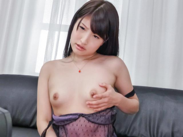 Saki Kobashi - JAV Superstar Saki Kobashi Feels her Pussy and Tastes Jizz - Picture 7