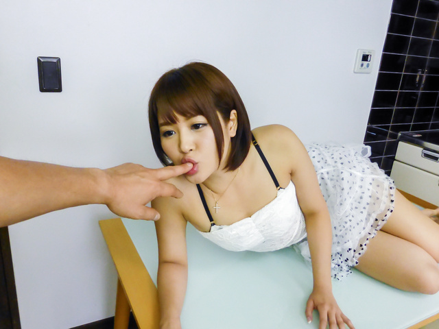 Saya Tachibana - Asian amateurs craving for cock in nasty modes  - Picture 6