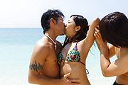 Yui Nanase - Outdoor japanese pussy creampies for teen Yui Nanase - Picture 1