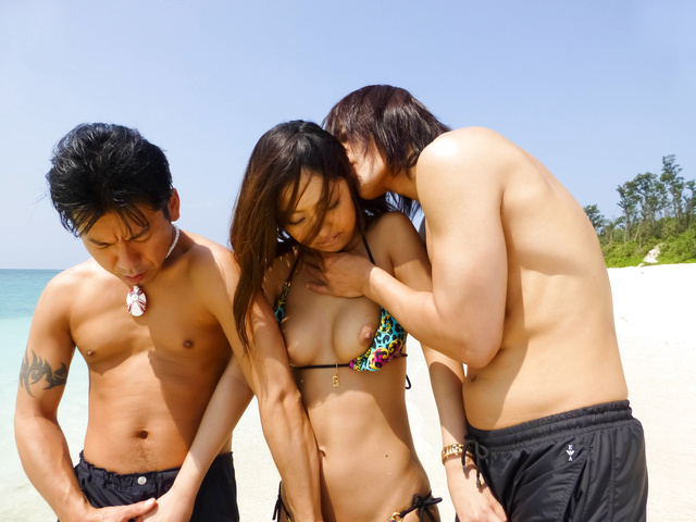 Yui Nanase - 室外的日本猫 creampies 为青少年 Yui 七濑 - 图片 6