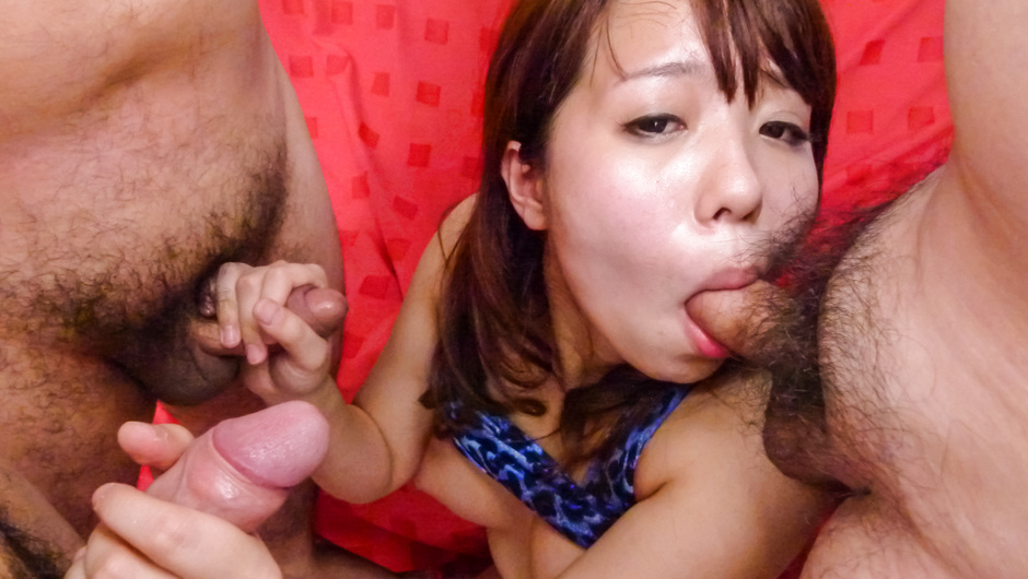 Phim Sex Miyu Kaburagi gives hot Japan blowjob on cam