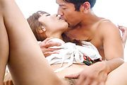 Anri Sonozaki - 杏里 Sonozaki 亚洲前他妈的给口交 - 图片 7