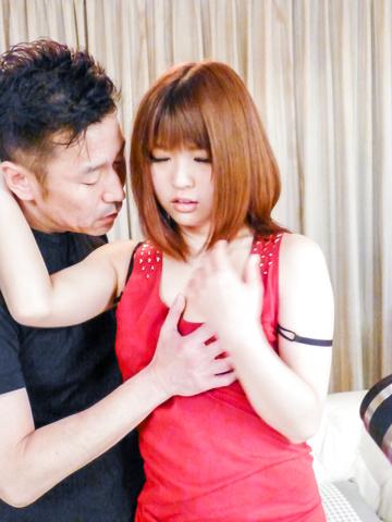Yuri Hyuga - Japanese blowjob in advance for hard sex withYuri Hyuga - Picture 5