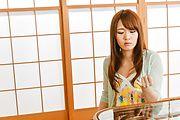 Eri Hosaka - 前一个良好他妈的甜日本口交 - 图片 1