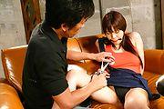 Karen Natsuhara - 卡伦夏原性交视频日本奴役的玩具 - 图片 9