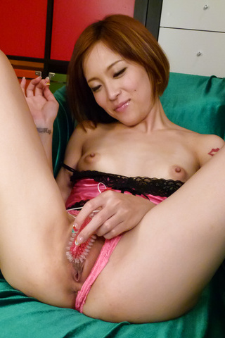 Ena Ouka - Girl ends quality porn play with serious facial  - Picture 3