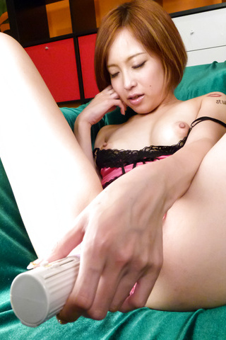 Ena Ouka - Girl ends quality porn play with serious facial  - Picture 9