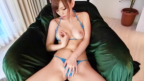 Megu Kamijo's asian sex bondage with toy fucking