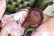 Miyu Aoi - 三个家伙从青少年开始 Aoi 获得日本口交 - 图片 3