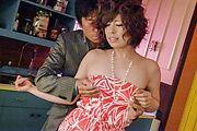 Ririsu Ayaka - Ririsu 绫香 ' s 刮摩猫钻后亚洲口交 - 图片 4