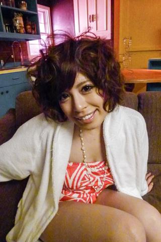 Ririsu Ayaka - Ririsu 绫香 ' s 刮摩猫钻后亚洲口交 - 图片 1