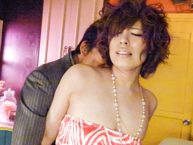Ririsu Ayaka - Ririsu 绫香 ' s 刮摩猫钻后亚洲口交 - 图片 8