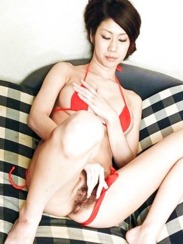 Fuuka Takanashi - MILF Huuka Takanashi hot big tit fucking - Picture 8