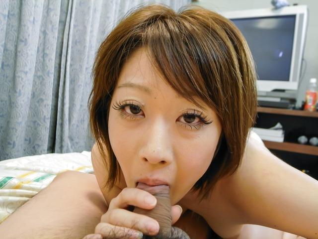 Haruka Sasano - Haruka Sasano gets a sticky creampie in asian blowjob movies - Picture 6