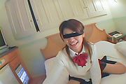 Miho - Asian blowjobs by kinky Japanese schoolgirl Miho - Picture 1