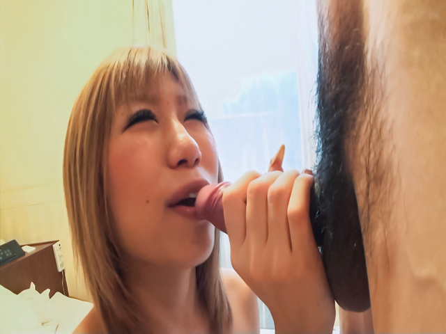 Ena - Busty Japanese bimbo blows cock and fucks hard  - Picture 2