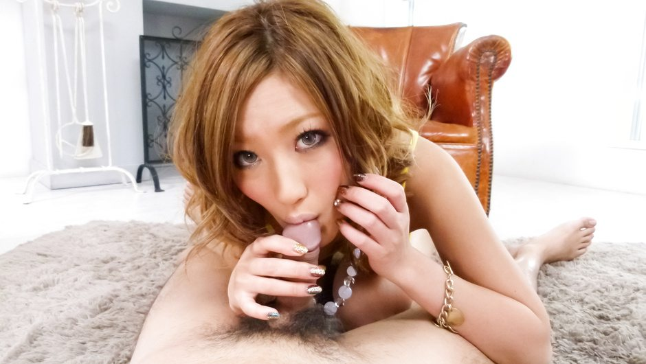 Aika's one of those hot cock sucking asian girls