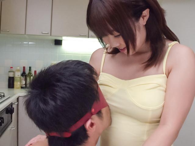Yui Sakura - Japanese blowjob video with naughty Yui Sakura - Picture 9