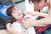 Yuria Mano - 热的女学生上课时性交很硬 - 图片 10