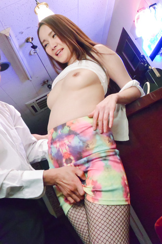 Misuzu Tachibana - Busty Japanese fucked deep in her tight pussy - Picture 4