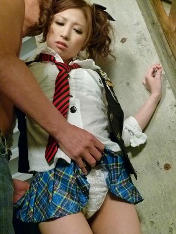 Tsubasa Aihara - 青少年 Tsubasa Aihara 想性爱后日本口交 - 图片 1