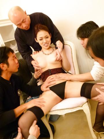 Ann Yabuki - Ann Yabuki gets cumshots after japanese vibrator sex - Picture 2