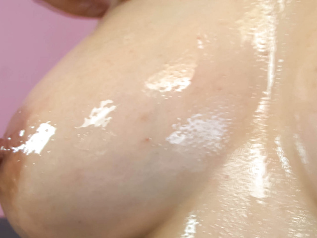 Yuu Haruka - Oiled up busty babe cock sucking and hardcore fucked - Picture 5