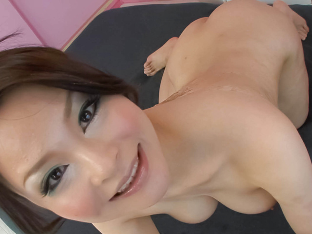 Yuu Haruka − Oiled up busty babe cock sucking and hardcore fucked − Picture 6