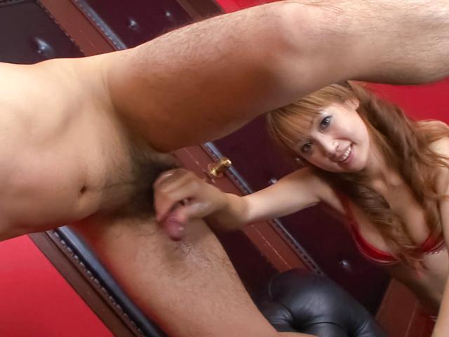Yuki Mizuho - 令人讨厌的红发小鸡制、 压制她的男朋友公鸡的悸动 - 图片 6