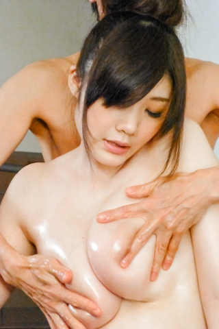 Rie Tachikawa - Curvy Rie Tachikawa amazes with Asian blowjob  - Picture 3