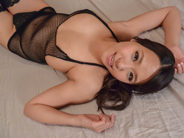 Saki Sudou - JApanese blowjob by big tits AsianSaki Sudou - Picture 4