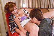 Anna Anjo - 热安娜安城凸轮上提供亚洲口交 - 图片 2